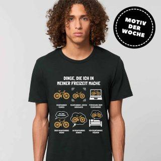 Markiert einen echten Mountainbiker!  ➡️Ab jetzt im Shop  × 100% Bio-Baumwolle × Vegan🌱 × Für Damen und Herren  #giplant #gplnt #giessen #fairfashion #shop #tshirtprint #ökotex #gots #vegan #nachhaltig #motiv #design #moutainbike #mntbike #stanleystella #tshirt #trend #shirt #tshirtdesign